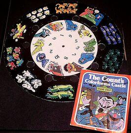 Count's Colorforms Castle thumbwheel j