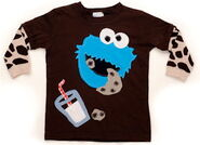 Morfs cookie monster shirt