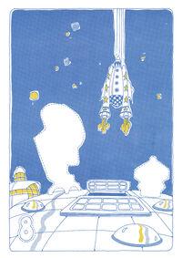Sesame Street in Space Sticker Book 010