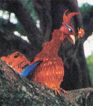 BB China Phoenix puppet