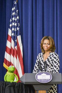 Kermit at the White House March 12 2014-03