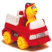 Matchbox big bird's fire truck