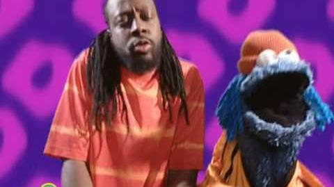 Sesame Street Wyclef Jean And Cookie Monster Sing About Hea