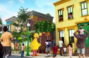 Sesame place new neighborhood concept art