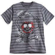 Disney store 2014 animal striped t-shirt