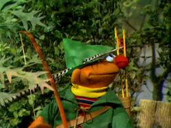 Ernie as Robin Hood
