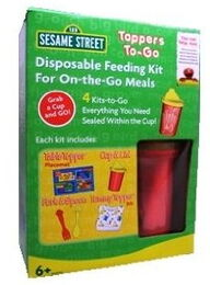 Neat solutions toppers to-go disposable feeding kit