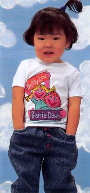 Sesame catalog shirt betty lou prairie dawn