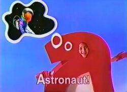 1998 PBS spot astronaut