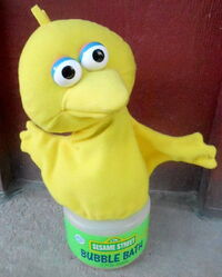 Applause big bird bubble bath plush soaky 1