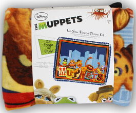 Muppets no-sew fleece blanket