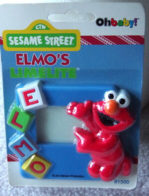 Ohbaby 1997 elmo nightlight