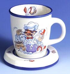 Schef igel cup saucer