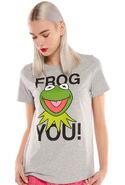 Essentiel antwerp kermit frog you t-shirt