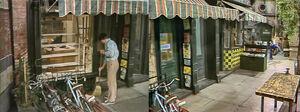 Fix-It Shop exterior 1453