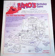 Milton bradley elmo's birthday game 6