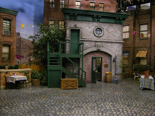 A Rare View Of The Street Before It Curved At Arbor From Very First Episode