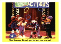 1992 sesame trading cards 59