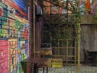 3043 hooper mural and arbor