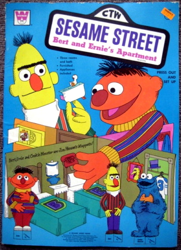Bert And Ernie S Apartment Book