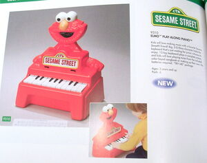 Buddy L 1993 elmo play-along piano