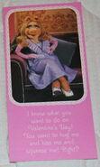 Hallmark piggy valentines set 2 1982