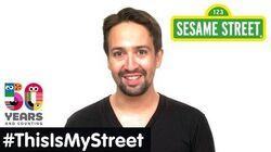 Sesame Street Memory Lin-Manuel Miranda ThisIsMyStreet