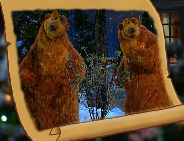 legend of the winter berry - Bear Inthe Big Blue House Christmas