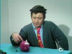 Buddy Jim coins piggybank
