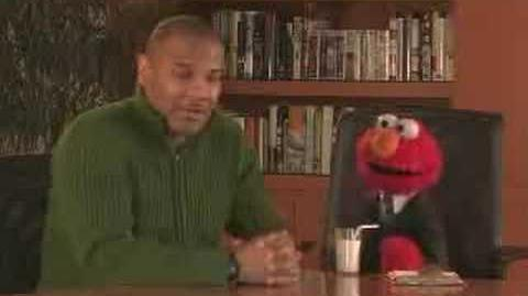 Elmo interviews Kevin Clash My Life as a Furry Red Monster