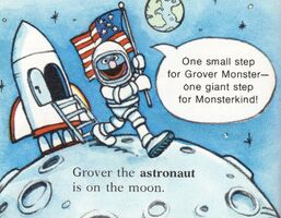 Grover on the Moon