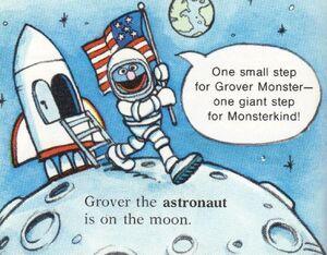 Grover on the Moon