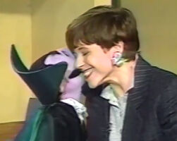Kiss Katie Couric and The Count