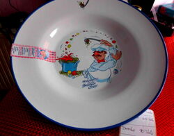 Schef igel soup bowl