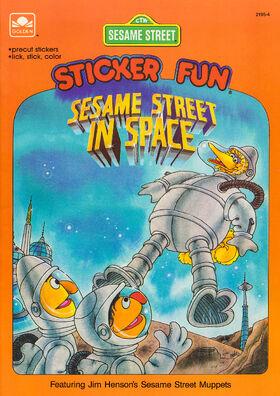 Sesame Street in Space Sticker Book 001