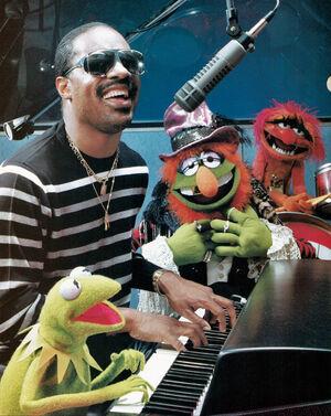 Stevie Wonder Muppet Magazine