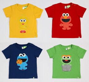 B 2009 character t-shirts