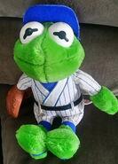 Dakin 1988 kermit baseball plush