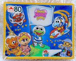 Golden 1987 muppet babies puzzle