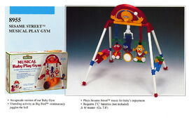 Illco 1992 baby toys musical play gym