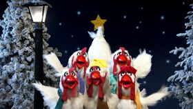Joy to the World - chickens