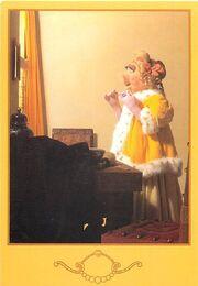 Kermitage postcard vermeer2