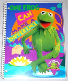 Mead one frog notebook