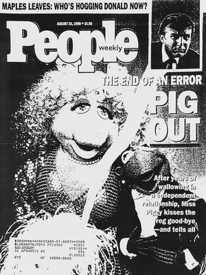 Pig of the 90s mock-up People cover