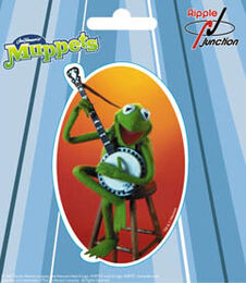 Ripple junction sticker 2003 kermit banjo