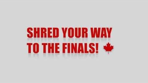 Shred your way to the finals!