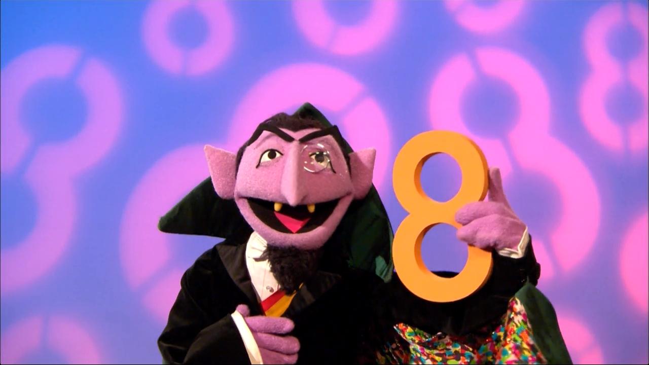 Eight is Great (Count von Count) | Muppet Wiki | Fandom