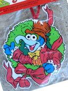 Kurt adler muppet christmas carol wreath gonzo