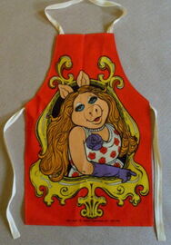 Miss piggy uk kids apron