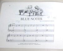 Rowlf book blue notes